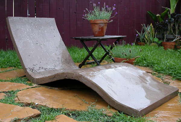 Marvelous Concrete Lounge Chair