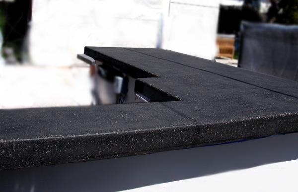 Concrete BBQ Countertop